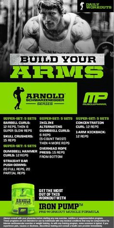 Arnold: Build your Arms