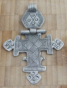 Antique Ethiopian Hinged Cross #2