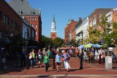 Church Street Marketplace - Main St., Pearl St., Burlington, Vt.