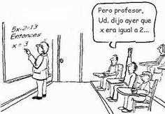 Humor matemático | Matemolivares