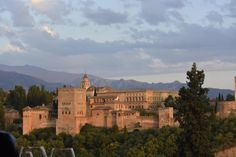 The Alhambra in Granada,  Spain. Several tiles in my collection come from there.