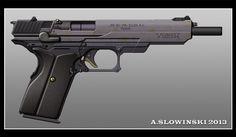 Yeager PA-3520 A2 Pistol by BlackDonner.deviantart.com on @deviantART