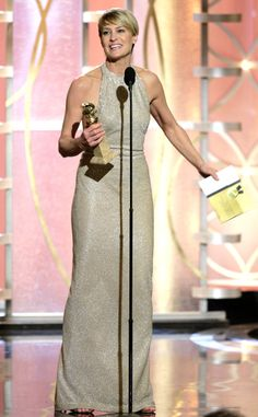 """Robin Wright for """"House of Cards"""" Best Actress in a TV Series, Drama:  #GoldenGlobes 2014"""