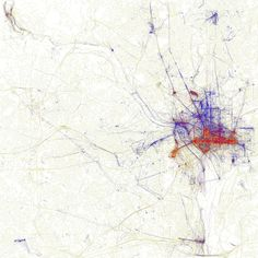 Washington, DC Tourist Vs Local Map....Proof tourists own the national mall.