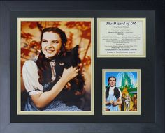 Wizard of Oz - Dorothy Color Framed Photo Collage