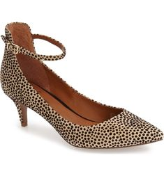 300995f97d7d Linea Paolo  Cutie  Ankle Strap Pointy Toe Pump (Women)