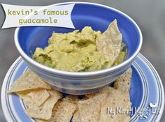 My Merry Messy Life: Kevin's Famous Guacamole Recipe – From Scratch