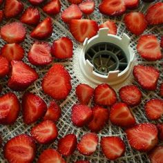 Preserving Strawberries - How to Dehydrate and Freeze