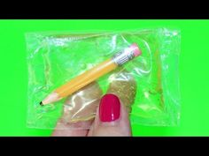 DIY American Girl Doll Clear Squishy Pencil Case - YouTube