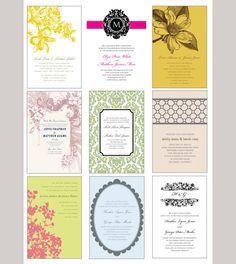 printable weeding cards