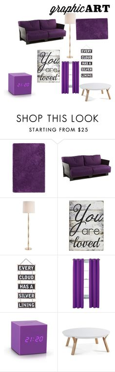 """""""Untitled #41"""" by ashfur123 on Polyvore featuring interior, interiors, interior design, home, home decor, interior decorating, Chandra Rugs, Kartell, Arteriors and Pier 1 Imports"""