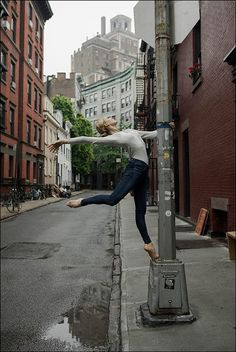 Keenan - West Village, New York City - Contour 360 Jeans by AG Jeans -The Ballerina Project Ballet Nyc, Paris Opera Ballet, Dancers Pose, Ballet Dancers, Dance Like No One Is Watching, Just Dance, New York Broadway, Ballet Dance Photography, Ballerina Project