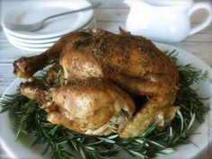 Slow Cooker Roasted Chicken (GF) - The Nourishing Home