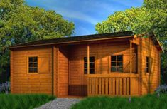 paratucasa.net Garage Doors, Shed, Outdoor Structures, Building, Outdoor Decor, Home Decor, Work Spaces, Log Homes, Lean To Shed
