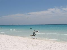 Frisbee on the beach! #Destin #Florida #beach #honeymoon #anniversary #bedandbreakfast #wedding #romantic #getaway #vacation