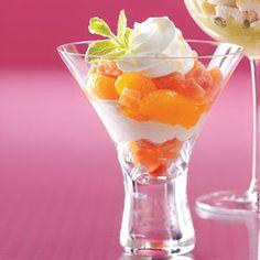 Mandarin Trifles Recipe from Taste of Home