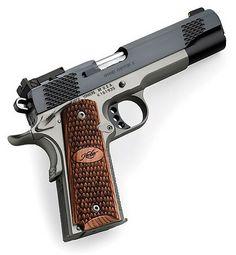 hand guns kimber 1911 stainless rapter - B E A utiful!