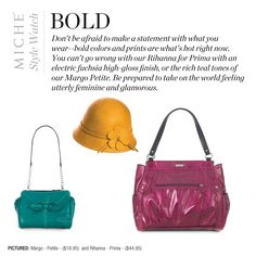 Be bold with your fashion choices  Buy at janetpeterson.miche.com