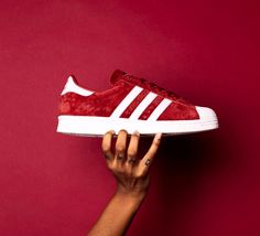Superstar Suede Red