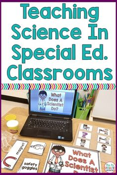 Many students struggle with all of the vocabulary and language that come with science concepts. These hands on activities will help your students engage with science concepts in a way that supports their understanding. Every special education class, autism program, life skills teacher, kindergarten, first grade and science teacher needs these units! #science