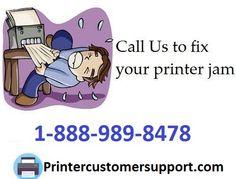 Call s on 1-888-989-8478 to fix a #printer #paperjam http://printercustomersupport.com/ #PrinterRepair #PrinterpaperJam #Technicalsupport #Printerinstallation