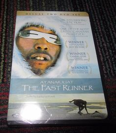 NEW ATANARJUAT: THE FAST RUNNER 2-DISC DVD MOVIE, A STORY WITH LESSONS FOR ALL