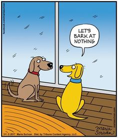 The dogs plan their day I Love Dogs, Puppy Love, Cute Dogs, Funny Dogs, Funny Animals, Cute Animals, Dog Comics, Dog Jokes, Cartoon Dog