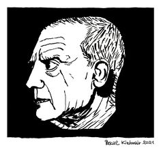 """""""Give me a museum and I'll fill it."""" ― Pablo Picasso ...... パブロ・ピカソ ...... Tuschepinsel auf Papier / Ink brush on paper,29,7 x 21 cm Pablo Picasso, Give It To Me, Museum, Ink, Portrait, Portraits, Headshot Photography, Portrait Paintings, India Ink"""