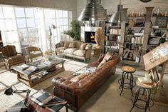 [Deco] Dialma Brown y su decoración vintage industrial