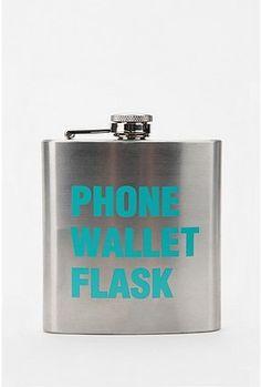 phone- check.wallet- check. flask- check.