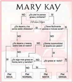 TIPOS DE PIEL MARY KAYwww.marykay.com.mx/almareza #marykaydfsur Facebook/Ilumina tu Belleza con Mary Kay
