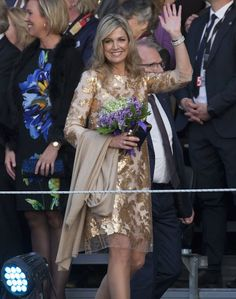 Queen Maxima and King Willem Alexander attends Liberation Day Concert