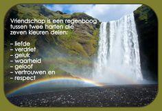 Vriendschap is een regenboog...