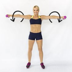 Brooke Griffin from the fab site Skinny Mom shares her six exercise moves to strong arms. And we all know moms need those - get your workout on girls! Body Fitness, Fitness Diet, Fitness Motivation, Health Fitness, Workout Fitness, Skinny Mom, Fitness Inspiration, Lose Arm Fat, Lose Weight