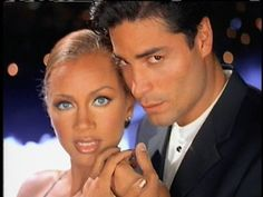 Vanessa Williams with handsom Latino man Helen Williams, Vanessa Williams, Latino Men, Shall We Dance, Interracial Love, Marriage And Family, Handsome Guys, Dance The Night Away, Beautiful Black Women