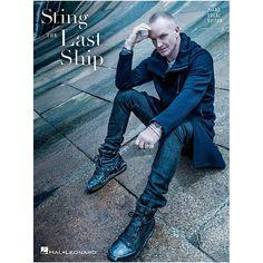 Hal Leonard Sting - The Last Ship fpr Piano/Vocal/Guitar
