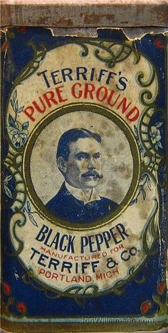 Old Tin black pepper