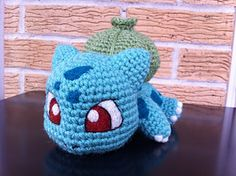 FREE Ravelry: Baby Bulbasaur pattern by Evelyn Pham