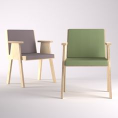 Club 44 Chair designed by Angelo Mangiarotti, manufactured by AgapeCasa.