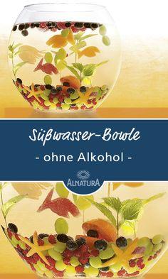 #Alnatura #Rezept für #Süßwasser-Bowle #Silvester #Party #Kinderbowle #ohnealkohol #yummy