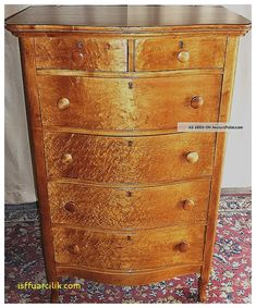 I Want To Find A Birdseye Maple Dresser Like This
