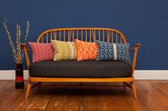 Seven gauge studios knitted cushions
