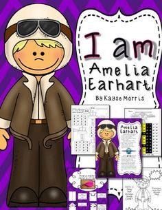 I am Amelia Earhart ~ Mini Unit (Women's History)