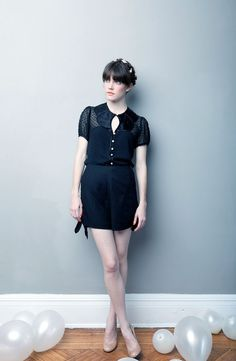 The Samantha Blouse  READY TO SHIP by alexandragrecco on Etsy, $315.00