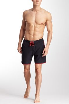 Mr. Swim Contrast Trim Board Short on HauteLook