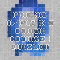 Praxis II/PLT K-6 Crash Course | Quizlet