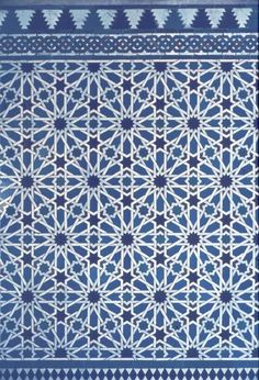 Perforation patterns: Islamic art, Seville