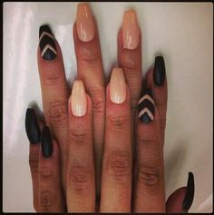 I like these better than the pointy nails