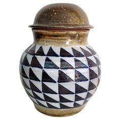 Lidded Jar by Yoko Cohen #huntersalley