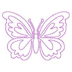 Butterflies Butterflies - Free Instant Machine Embroidery Designs